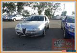 Classic 2002 Alfa Romeo 147 Selespeed Silver Automatic 5sp A Hatchback for Sale