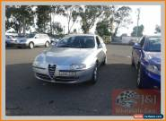 2002 Alfa Romeo 147 Selespeed Silver Automatic 5sp A Hatchback for Sale