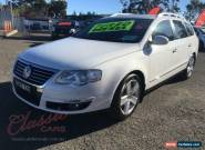 2009 Volkswagen Passat 3C MY09 Upgrade 125 TDI White Automatic 6sp A Wagon for Sale