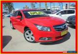 Classic 2009 Holden Cruze JG CDX Red Manual 5sp M Sedan for Sale