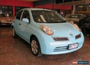 2009 Nissan Micra K12 City Collection Paris Blue Automatic 4sp A Hatchback for Sale