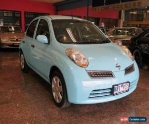 Classic 2009 Nissan Micra K12 City Collection Paris Blue Automatic 4sp A Hatchback for Sale