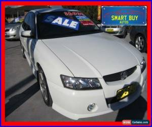 Classic 2005 Holden Commodore VZ SV6 White Automatic 5sp A Sedan for Sale