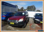 2004 Honda CR-V MY04 (4x4) Gold Automatic 4sp A Wagon for Sale