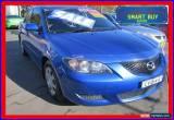 Classic 2005 Mazda 3 BK Neo Blue Automatic 4sp A Sedan for Sale