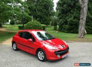 2007/57 Peugeot 207 1.4 16v 90 Sport 3 Door Hatchback Red for Sale