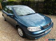 2001 VAUXHALL ASTRA ENVOY 8V AUTO BLUE for Sale