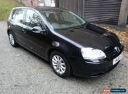 VW Volkswagen Golf FSI Match 1.6 5 Door Hatchback Family Luxury 6 Speed Manual for Sale