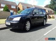Ford Mondeo Estate Ghia X 2.5l V6 black 2002 for Sale