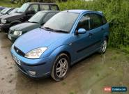 2002 ford focus 1.6 long mot 5 door car for Sale
