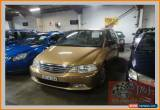 Classic 2000 Honda Odyssey (6 Seat) Gold Automatic 4sp A Wagon for Sale