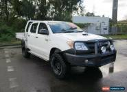2007 Toyota Hilux KUN26R MY07 SR White Manual 5sp M 4D UTILITY for Sale