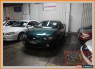 2007 Ford Falcon BF MkII XR6 Green Automatic 4sp A Utility for Sale