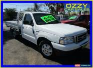 2006 Ford Courier PH GL White Manual 5sp M Cab Chassis for Sale