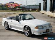 1989 Ford Mustang GT Convertible for Sale