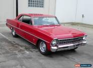 1967 CHEVROLET NOVA II 283V8 AUTOMATIC AIR/CONDITIONING IMMACULATE CONDITION for Sale