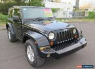 2007 Jeep Wrangler JK Rubicon Black Automatic 4sp A Softtop for Sale