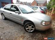 2000 X FORD MONDEO ZETEC 1.8 SILVER 66000 MILES NO RESERVE for Sale