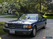 1988 Mercedes-Benz 500-Series for Sale
