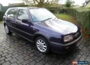 1996 VOLKSWAGEN GOLF GTI BLUE Private Registration valued at ??600 MOT Bargain for Sale