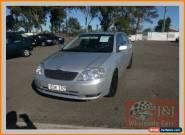 2004 Toyota Corolla ZZE122R Conquest Silver Automatic 4sp A Sedan for Sale