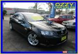 Classic 2008 Holden Commodore VE MY08 SV6 Black Automatic 5sp A Sedan for Sale