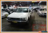 Classic 1997 Holden Rodeo TFG6 DX White Manual 5sp M Cab Chassis for Sale
