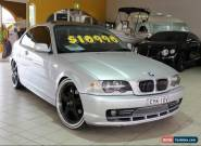 2001 BMW 325CI E46 Silver Manual M Coupe for Sale