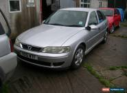 2001 VAUXHALL VECTRA LS DTI SILVER (Spares or Repair) for Sale