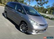 2004 Toyota Estima Aeras F&R Cameras Silver Automatic 4sp A Wagon for Sale
