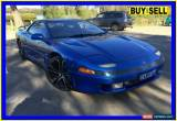 Classic 1991 Mitsubishi 3000GT GTO Blue Manual 5sp M Coupe for Sale