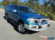 2007 Nissan Navara D40 4X4 ST-X Blue Automatic 5sp A Dual Cab for Sale