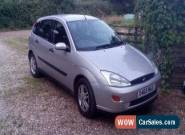 2000 FORD FOCUS ZETEC SILVER 1yrs MOT - 89 230miles Faulty fuel pump for Sale