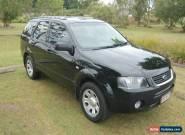 SEPTEMBER 2010 BLACK FORD TERRITORY 94000 Ks. SY MK11 TX 7 SEATER. for Sale