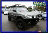 Classic 2004 Nissan Patrol GU IV ST (4x4) Grey Automatic 4sp A Wagon for Sale