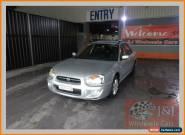 2004 Subaru Impreza MY04 GX (AWD) Silver Automatic 4sp A Hatchback for Sale