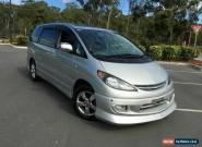 2003 Toyota Estima ACR40 AERAS Silver Automatic 4sp A Wagon for Sale