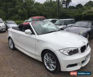 Classic 2012 BMW 118 2.0TD M Sport Convertible for Sale