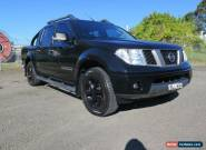2009 Nissan Navara D40 Titanium Black Automatic 5sp A 4D UTILITY for Sale
