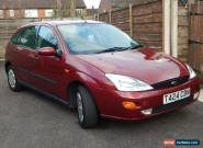 FORD FOCUS GHIA 59000 MILES 1999 Petrol 1.6 5dr MOT Classic Car VGC Burgundy Red for Sale