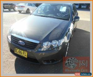 Classic 2009 Ford Falcon FG XT (LPG) Grey Automatic 4sp A Sedan for Sale