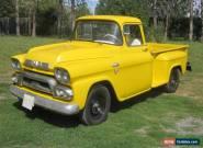 1959 GMC 100 custom cab for Sale