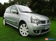 Renault Clio Sport 172 Very Low Miles Great Condition 2.0 RS Silver 67000 miles for Sale
