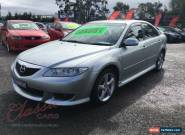 2004 Mazda 6 GG Luxury Sports Silver Manual 5sp M Hatchback for Sale