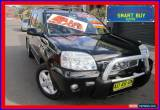 Classic 2005 Nissan X-Trail T30 TI (4x4) Black Automatic 4sp A Wagon for Sale
