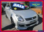 2010 Suzuki Swift EZ MY07 Update RE.4 Silver Manual 5sp M Hatchback for Sale