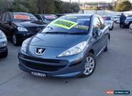 2008 Peugeot 207 XR Grey Manual 5sp M Hatchback for Sale