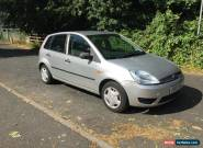 2003 FORD FIESTA FINESSE 1.3 - 5 DOOR - LONG MOT - NO RESERVE - BARGAIN for Sale