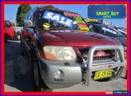 2003 Mitsubishi Pajero NP Exceed LWB (4x4) Red Automatic 5sp A Wagon for Sale