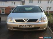 2005 VAUXHALL MERIVA LIFE TWINPORT SILVER for Sale